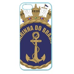 Seal Of Brazilian Navy  Apple Seamless Iphone 5 Case (color) by abbeyz71