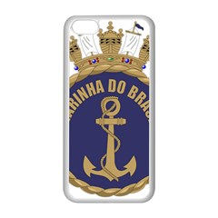 Seal Of Brazilian Navy  Apple Iphone 5c Seamless Case (white) by abbeyz71