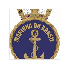 Seal Of Brazilian Navy  Small Satin Scarf (square) by abbeyz71
