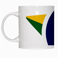 Roundel Of Brazilian Air Force White Mugs by abbeyz71