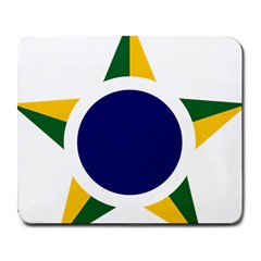 Roundel Of Brazilian Air Force Large Mousepads by abbeyz71