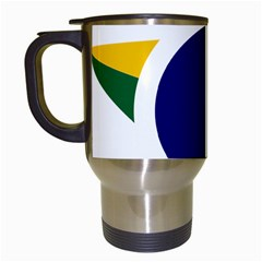 Roundel Of Brazilian Air Force Travel Mugs (white) by abbeyz71