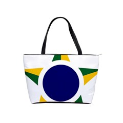 Roundel Of Brazilian Air Force Shoulder Handbags by abbeyz71