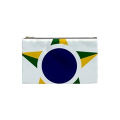 Roundel Of Brazilian Air Force Cosmetic Bag (small)  by abbeyz71