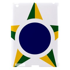 Roundel Of Brazilian Air Force Apple Ipad 3/4 Hardshell Case (compatible With Smart Cover) by abbeyz71