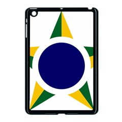 Roundel Of Brazilian Air Force Apple Ipad Mini Case (black) by abbeyz71
