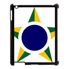 Roundel Of Brazilian Air Force Apple Ipad 3/4 Case (black) by abbeyz71