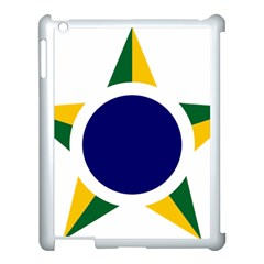 Roundel Of Brazilian Air Force Apple Ipad 3/4 Case (white) by abbeyz71