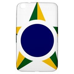 Roundel Of Brazilian Air Force Samsung Galaxy Tab 3 (8 ) T3100 Hardshell Case  by abbeyz71