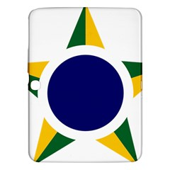 Roundel Of Brazilian Air Force Samsung Galaxy Tab 3 (10 1 ) P5200 Hardshell Case  by abbeyz71