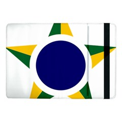 Roundel Of Brazilian Air Force Samsung Galaxy Tab Pro 10 1  Flip Case by abbeyz71