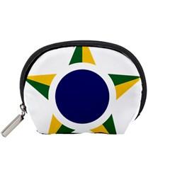 Roundel Of Brazilian Air Force Accessory Pouches (small)  by abbeyz71
