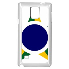 Roundel Of Brazilian Air Force Samsung Galaxy Note 4 Case (white)