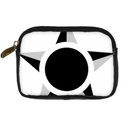 Roundel Of Brazilian Air Force (low Visibility) Digital Camera Cases by abbeyz71