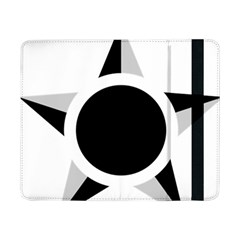 Roundel Of Brazilian Air Force (low Visibility) Samsung Galaxy Tab Pro 8 4  Flip Case by abbeyz71