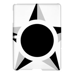 Roundel Of Brazilian Air Force (low Visibility) Samsung Galaxy Tab S (10 5 ) Hardshell Case  by abbeyz71