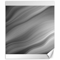 Wave Form Texture Background Canvas 20  X 24   by Sapixe