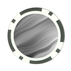 Wave Form Texture Background Poker Chip Card Guard by Sapixe