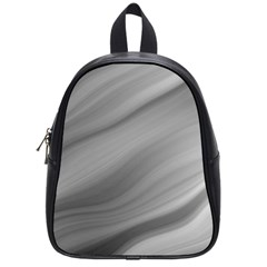Wave Form Texture Background School Bag (small) by Sapixe