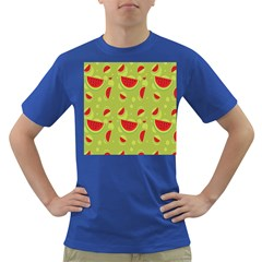 Watermelon Fruit Patterns Dark T Shirt