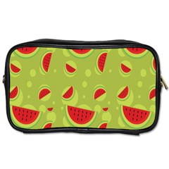 Watermelon Fruit Patterns Toiletries Bags 2 Side by Sapixe