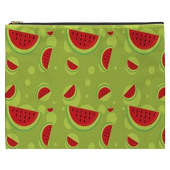 Watermelon Fruit Patterns Cosmetic Bag (xxxl)  by Sapixe