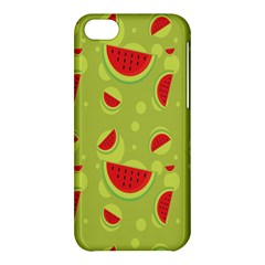 Watermelon Fruit Patterns Apple Iphone 5c Hardshell Case by Sapixe