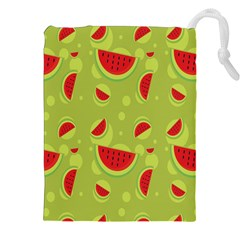 Watermelon Fruit Patterns Drawstring Pouches (xxl) by Sapixe