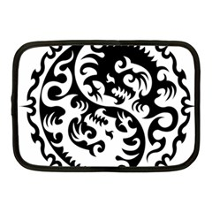 Ying Yang Tattoo Netbook Case (medium)  by Sapixe