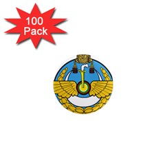 Emblem Of Royal Brunei Air Force 1  Mini Magnets (100 Pack)  by abbeyz71