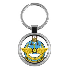 Emblem Of Royal Brunei Air Force Key Chains (round)  by abbeyz71