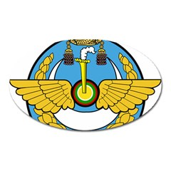 Emblem Of Royal Brunei Air Force Oval Magnet by abbeyz71