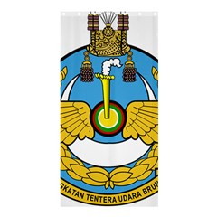 Emblem Of Royal Brunei Air Force Shower Curtain 36  X 72  (stall)  by abbeyz71