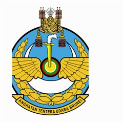 Emblem Of Royal Brunei Air Force Small Garden Flag (two Sides) by abbeyz71