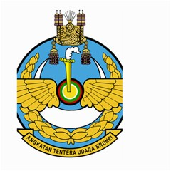 Emblem Of Royal Brunei Air Force Large Garden Flag (two Sides) by abbeyz71