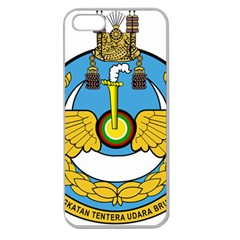 Emblem Of Royal Brunei Air Force Apple Seamless Iphone 5 Case (clear) by abbeyz71