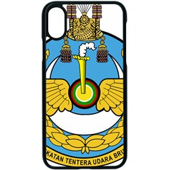Emblem Of Royal Brunei Air Force Apple Iphone X Seamless Case (black) by abbeyz71