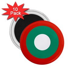 Bulgarian Air Force Roundel 2 25  Magnets (10 Pack)  by abbeyz71