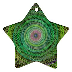 Wire Woven Vector Graphic Ornament (star) by Sapixe