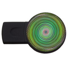 Wire Woven Vector Graphic Usb Flash Drive Round (4 Gb) by Sapixe