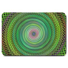 Wire Woven Vector Graphic Large Doormat  by Sapixe