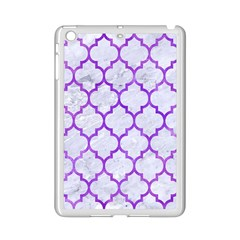 Tile1 White Marble & Purple Watercolor (r) Ipad Mini 2 Enamel Coated Cases by trendistuff