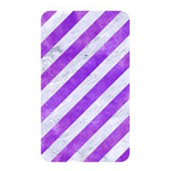 Stripes3 White Marble & Purple Watercolor (r) Memory Card Reader by trendistuff