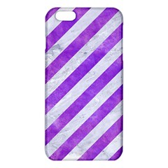 Stripes3 White Marble & Purple Watercolor (r) Iphone 6 Plus/6s Plus Tpu Case by trendistuff