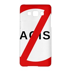 No Racism Samsung Galaxy A5 Hardshell Case  by demongstore
