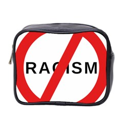 2000px No Racism Svg Mini Toiletries Bag 2 Side by demongstore
