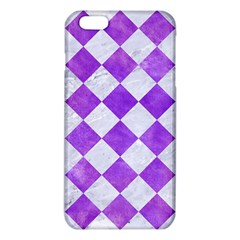 Square2 White Marble & Purple Watercolor Iphone 6 Plus/6s Plus Tpu Case by trendistuff