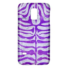 Skin2 White Marble & Purple Watercolor (r) Galaxy S5 Mini by trendistuff