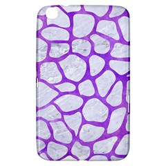 Skin1 White Marble & Purple Watercolor Samsung Galaxy Tab 3 (8 ) T3100 Hardshell Case  by trendistuff