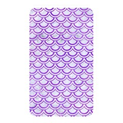 Scales2 White Marble & Purple Watercolor (r) Memory Card Reader by trendistuff
